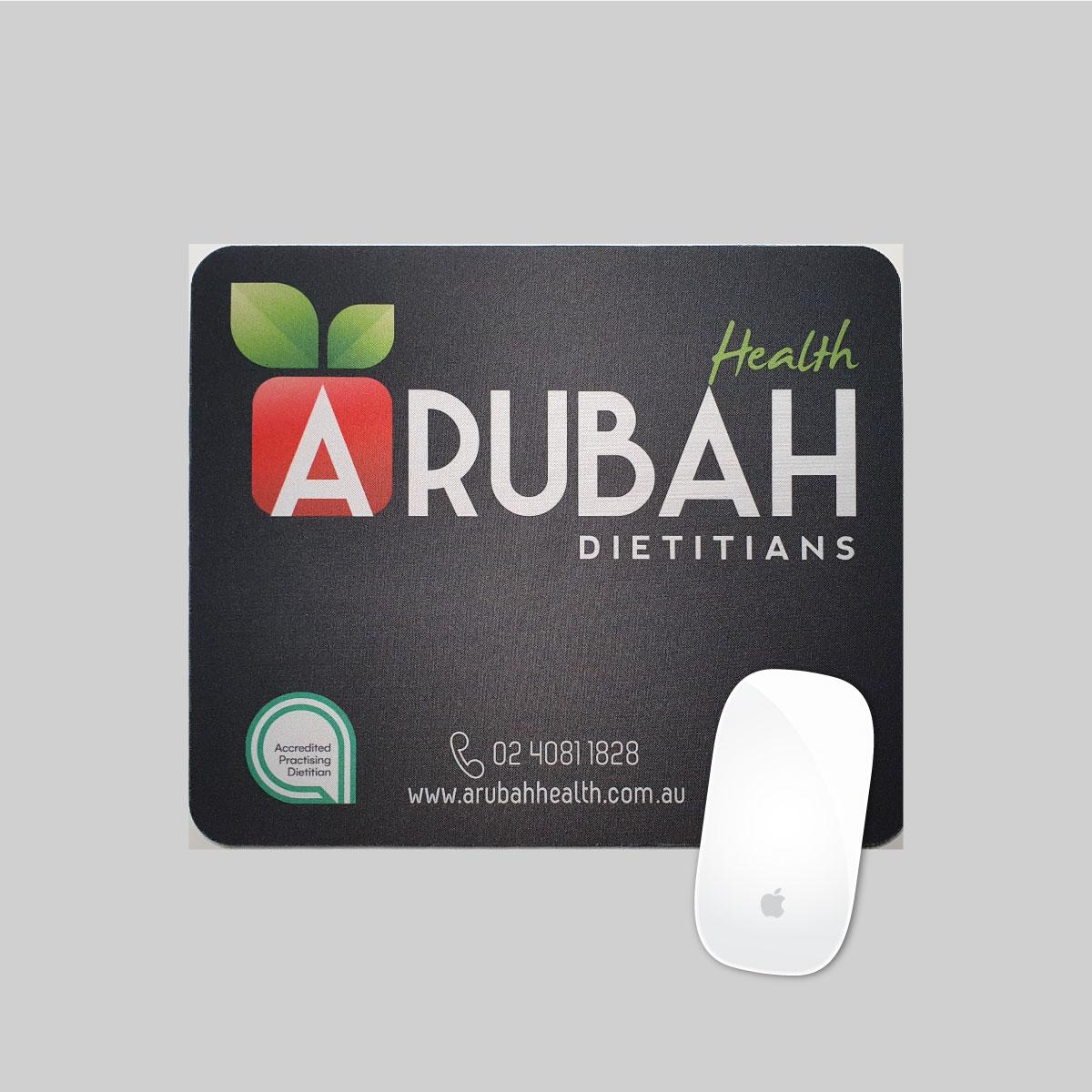 Arubah Health Mouse Pad